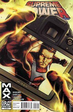 Supreme Power (2011 Marvel Max) 2 Marvel Comic books modern era cover