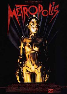 Metropolis - The 80's colorized re-imagined version. Great poster.