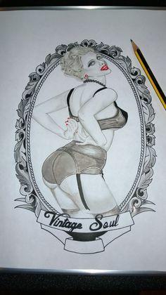 Tattoo Design by Darren Burton @ Vintage Soul Studio Soul Tattoo, Vintage Soul, My Portfolio, Tattoo Designs, Studio, Tattoos, Tatuajes, Japanese Tattoos, Design Tattoos