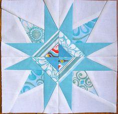 Star Paper pieced
