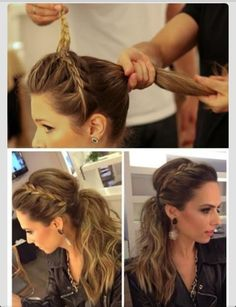 Doing this hairstyle for a wedding anniversary this weekend all thanks to my momma who found it!