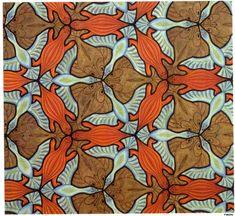 M.C. Escher's Symmetry Drawing