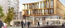 New town centre in Middelfart