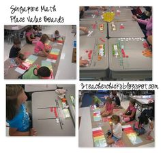 Singapore Math Video Tutorial for addition with Place Value discs.  We hope you visit our blog and comment!  www.3teacherchicks.blogspot.com