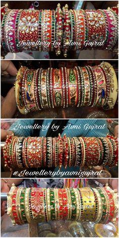Bridal Bangles, Wedding Jewelry, Bangle Set, Bangle Bracelets, Chuda Bangles, India Jewelry, Gold Jewelry, Ankle Jewelry, Silk Thread Bangles