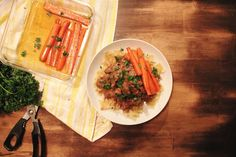 The taste of Myriam !: Beef stew with noodles & Maple syrup carrots | Rag...