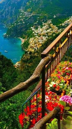 The Amalfi Coast, Italy. This was such a beautiful place to see...