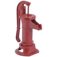 Simmons Pitcher Pump Designed for rugged long life service All parts are made from close grain cast iron for optimum strength All bolt lugs are reinforced for maximum strength Cap can be adjusted for a wide range of handle positions Old Water Pumps, Wash Tubs, Pipe Sizes, Designer Pumps, Home Vegetable Garden, Thing 1, Water Well, Outdoor Projects, Cast Iron