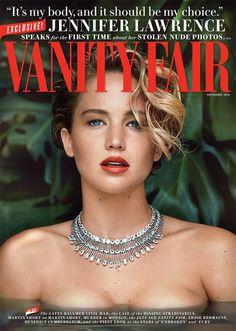 Jennifer Lawrence Covers 'Vanity Fair' Speaks Out on Nude Photo Leak