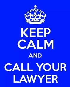 Keep calm...lawyer