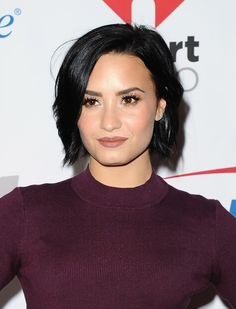 General picture of Demi Lovato - Photo 654 of 7776 Pelo Demi Lovato, Demi Lovato Hair, Demi Lovato Style, Short Hairstyles For Women, Celebrity Hairstyles, Weave Hairstyles, Cute Hairstyles, Demi Love, Hi Gorgeous
