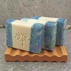 Blackberry Green Tea Scented Handcrafted Artisan Soap