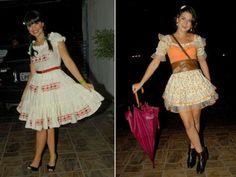 Customizar vestido de festa junina: dicas, fotos