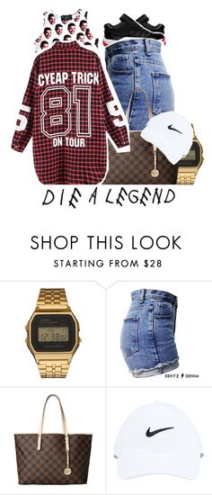 """""""MOOD ASF."""" by fashionkilla-lex ❤ liked on Polyvore featuring O-Mighty, G-Shock, Freaker, Michael Kors and NIKE"""