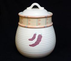 Taos Chili Pepper Cookie Jar made in USA by Treasure Craft