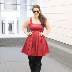 ASOS fit and flare dress ASOS burgundy fit and flare dress. Unlined. Worn but still in beautiful condition. Hidden zipper. ASOS Dresses