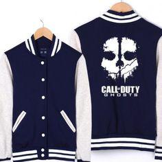 Baseball Jacket Call of Duty Ghosts Apparel | IdolStore