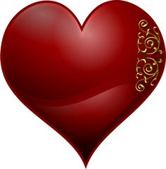 Pin by debbie worsham on red pinterest merry vector clip art of heart playing card symbol with wavy spiral pattern voltagebd Gallery