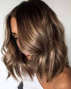 Caramel hair color ideas to try #haircolor #brownhair