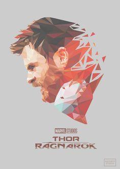 LowPloy Poster (fanart) Thor Ragnarok Vol.h : Thor Marvel Films, Marvel Dc Comics, Marvel Heroes, Marvel Characters, Marvel Avengers, The Mighty Thor, Marvel Fan Art, Avengers Wallpaper, Arte Pop