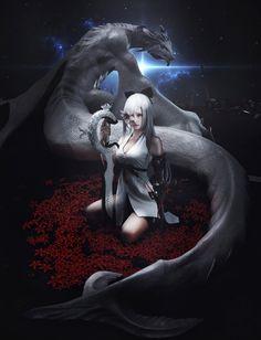 Drag-on Dragoon3_ZERO, LI Shan on ArtStation at https://www.artstation.com/artwork/lDd3k