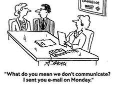 #CARTOON: Is email your entire employee engagement strategy?