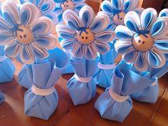 Centro de mesa (peso de porta) flor