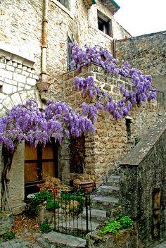 Saint-Guilhem-le-Désert ~ a province in the Hérault department, Languedoc-Roussillon region, southern France.
