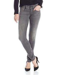 Women's Midge Cody Mid Skinny Jeans In Slander Grey Superstretch