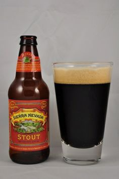 Sierra Nevada Stout -- Pours jet black in color, is pretty much opaque and has a large, mocha colored head that is dense and sticks around. On the nose aromas of fig, plum, faint molasses and a hoppy earthiness. In the mouth there is a lovely roast bitterness with dark chocolate, caramel, a hint of coffee and hop bite. Mild carbonation. Full bodied. Great lacing. Slight cream to the mouthfeel. The bitterness carries through the finish with a little sweetness coming in right at the end.