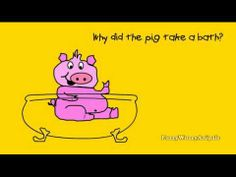 This is one of the Kids Jokes videos that I like because of the picture of the pig. The running water sound effect kind of makes me want to pee though.