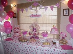 Baby Shower ideas for girl! Baby Shower Items, Baby Shower Cakes, T Baby, Birthday Parties, Birthday Ideas, Shower Party, Baby Shower Decorations, Event Decor, Baby Shower Invitations