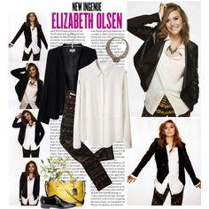 """Elizabeth Olsen"" by cassirin on Polyvore"