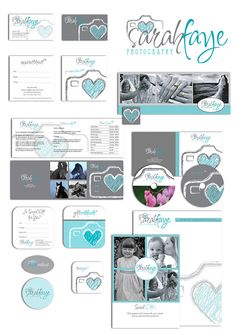 SALE Photography marketing set marketing kit by PhotographyLogos