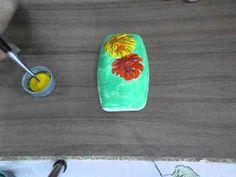 Pintura em Sabonete rosas