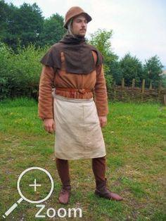 Enkel almandisk bonde. Hela Diu Minnezits 1400-talsgalleri här: http://www.diu-minnezit.de/indexfrm.php?tid=4