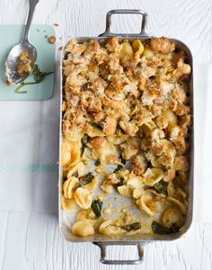 Bill Granger recipes: Mac and Cheese Spinach Mac And Cheese, Mac Cheese, Baby Spinach, Food N, Food And Drink, Classic Mac And Cheese, Bill Granger, Veggie Heaven, Aussie Food
