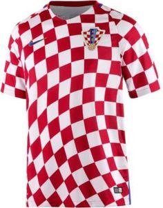 ac43efcddf8d8 Nike Kroatien EM 2016 Heim Fußballtrikot Herren