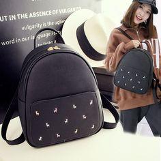 41.58$  Buy here - http://vinpw.justgood.pw/vig/item.php?t=l3ecag59658 - Shoulder bag women spring Korean women backpack pu tide leisure travel bag schoo