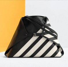 Bold, contrasting horsehair stripes complement the medium Ai messenger bag's trapezoid shape, making our latest iteration of this icon a striking work of art. Horsehair, Convertible, Leather Bag, Messenger Bag, Dust Bag, Stripes, Handbags, Shape, Pure Products
