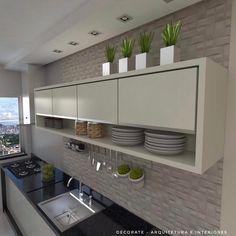 43 trendy home decored modern simple Kitchen Design Small, Kitchen Decor, Interior Design Kitchen, New Kitchen, Home Renovation, Home Kitchens, Kitchen Sets, Home Decor Tips, Kitchen Design