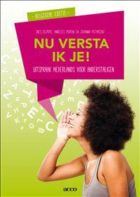 Nu versta ik je- Uitspraak Nederlands voor anderstaligen - Belgische e Management, Education, School, Onderwijs, Learning