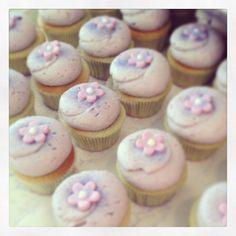 My favorite!  Georgetown Cupcake Lavender Earl Grey Teacake cupcakes