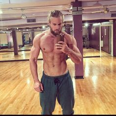 Lumberjack Abs. Yes. Just him not the workout.