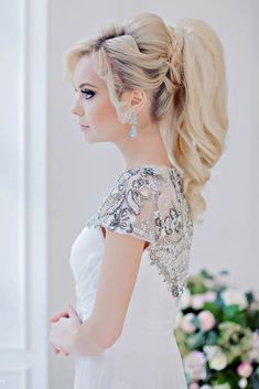 18 Creative & Unique Wedding Hairstyles ❤ See more: http://www.weddingforward.com/creative-unique-wedding-hairstyles/ #weddings #hairstyles