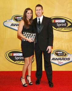 Carl & Kate Edwards at the 2013 NASCAR Awards Banquet