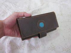 レザー長財布 Leather long wallet (16 card slots)