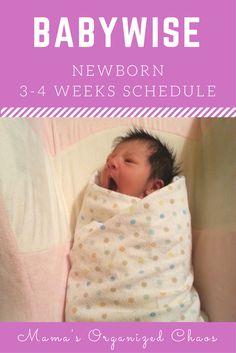 Babywise Baby Schedule