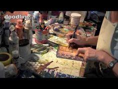 Rejoice: Stenciling with Jessica Sporn with StencilGirl stencils