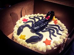 Scorpio cake!